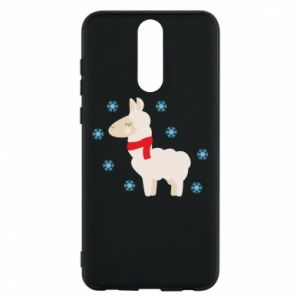 Phone case for Huawei Mate 10 Lite Llama in the snow