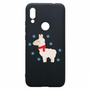 Etui na Xiaomi Redmi 7 Lama w śniegu