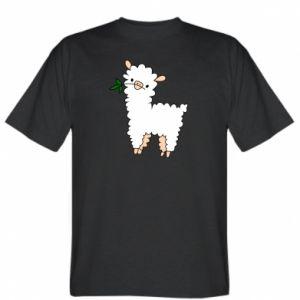 Koszulka męska Lamb with a sprig
