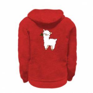 Bluza na zamek dziecięca Lamb with a sprig