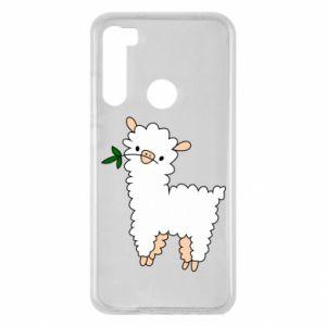 Etui na Xiaomi Redmi Note 8 Lamb with a sprig