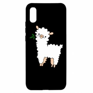 Xiaomi Redmi 9a Case Lamb with a sprig