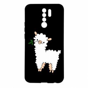 Etui na Xiaomi Redmi 9 Lamb with a sprig