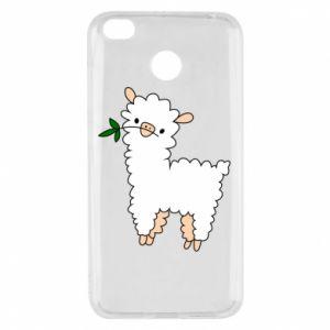 Etui na Xiaomi Redmi 4X Lamb with a sprig
