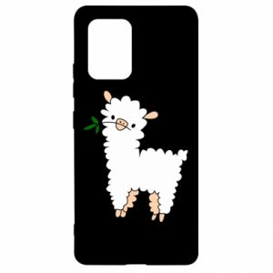 Etui na Samsung S10 Lite Lamb with a sprig