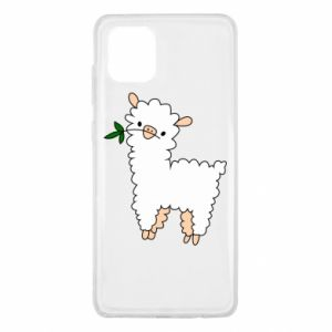 Etui na Samsung Note 10 Lite Lamb with a sprig