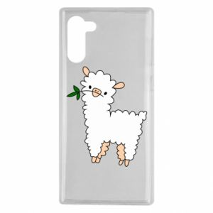Etui na Samsung Note 10 Lamb with a sprig