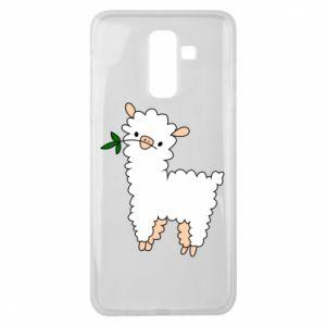Etui na Samsung J8 2018 Lamb with a sprig