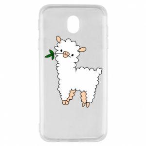 Etui na Samsung J7 2017 Lamb with a sprig