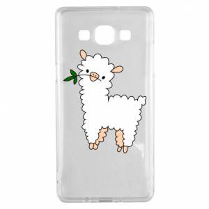 Etui na Samsung A5 2015 Lamb with a sprig