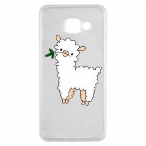 Etui na Samsung A3 2016 Lamb with a sprig