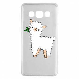 Etui na Samsung A3 2015 Lamb with a sprig