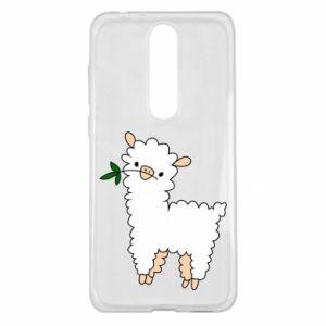 Etui na Nokia 5.1 Plus Lamb with a sprig