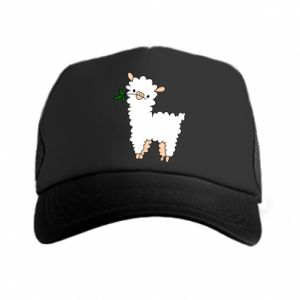 Trucker hat Lamb with a sprig - PrintSalon