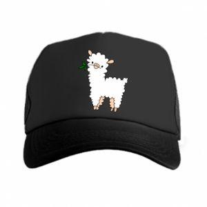 Czapka trucker Lamb with a sprig