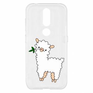 Etui na Nokia 4.2 Lamb with a sprig