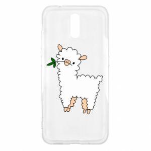 Etui na Nokia 2.3 Lamb with a sprig