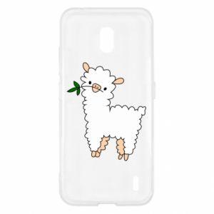 Etui na Nokia 2.2 Lamb with a sprig