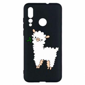 Etui na Huawei Nova 4 Lamb with a sprig