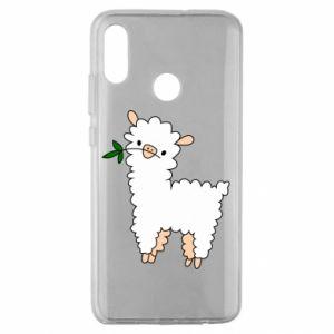 Etui na Huawei Honor 10 Lite Lamb with a sprig