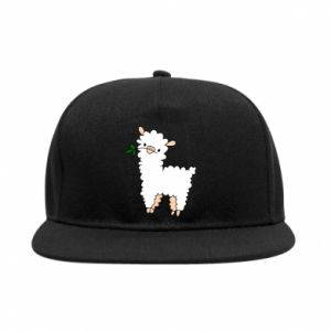 Snapback Lamb with a sprig