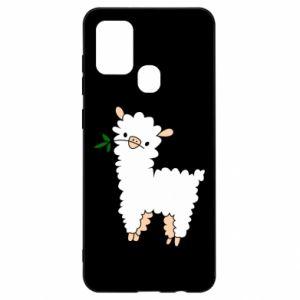Etui na Samsung A21s Lamb with a sprig