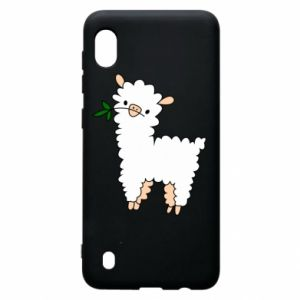 Etui na Samsung A10 Lamb with a sprig