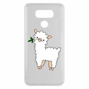 Etui na LG G6 Lamb with a sprig