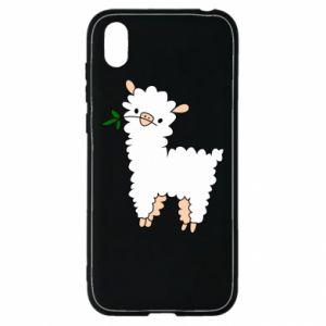 Etui na Huawei Y5 2019 Lamb with a sprig