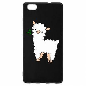 Etui na Huawei P 8 Lite Lamb with a sprig