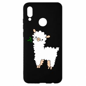 Etui na Huawei P Smart 2019 Lamb with a sprig