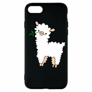 Etui na iPhone SE 2020 Lamb with a sprig