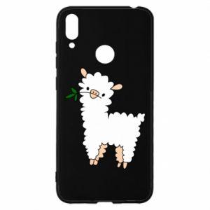 Etui na Huawei Y7 2019 Lamb with a sprig