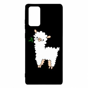 Etui na Samsung Note 20 Lamb with a sprig
