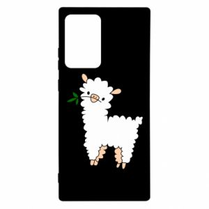 Etui na Samsung Note 20 Ultra Lamb with a sprig