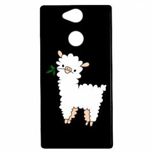 Etui na Sony Xperia XA2 Lamb with a sprig
