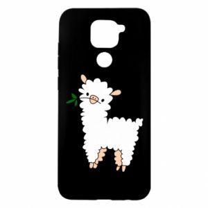 Etui na Xiaomi Redmi Note 9/Redmi 10X Lamb with a sprig