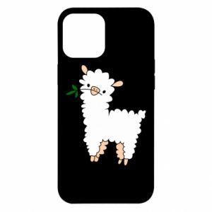 Etui na iPhone 12 Pro Max Lamb with a sprig