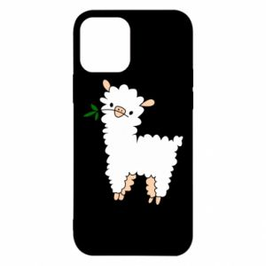 Etui na iPhone 12/12 Pro Lamb with a sprig