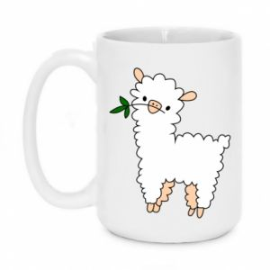 Mug 450ml Lamb with a sprig - PrintSalon