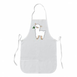 Apron Lamb with a sprig - PrintSalon