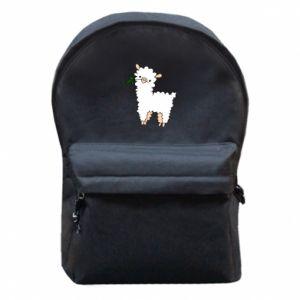 Plecak z przednią kieszenią Lamb with a sprig