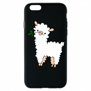 Etui na iPhone 6/6S Lamb with a sprig