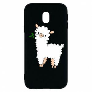 Etui na Samsung J3 2017 Lamb with a sprig