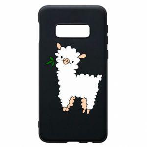 Etui na Samsung S10e Lamb with a sprig