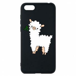Etui na Huawei Y5 2018 Lamb with a sprig