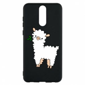 Phone case for Huawei Mate 10 Lite Lamb with a sprig - PrintSalon