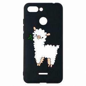Etui na Xiaomi Redmi 6 Lamb with a sprig