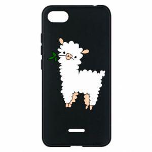 Etui na Xiaomi Redmi 6A Lamb with a sprig