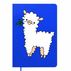 Notepad Lamb with a sprig